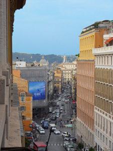 Vista dalla sede di Roma